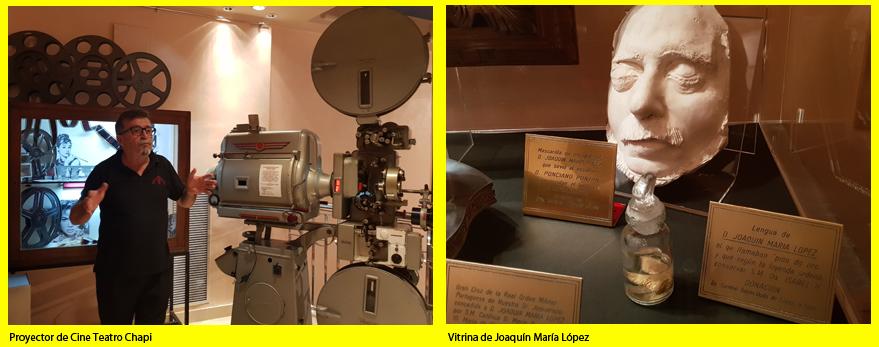 Proyector-vitrina Joaquin