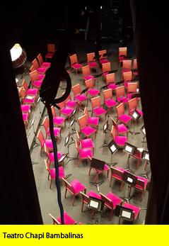 Teatro Chapi Bambalinas
