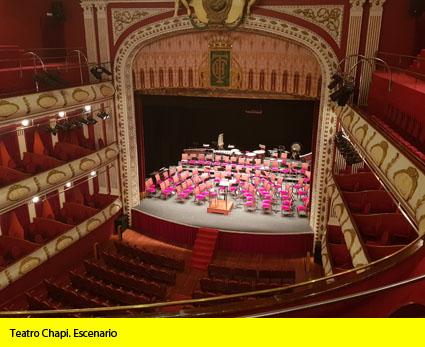 Teatro Chapi. Escenario